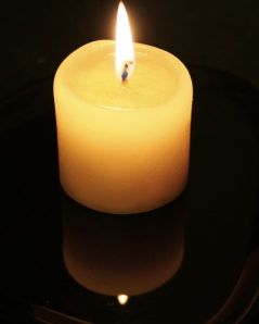 479px-Candle-flame-and-reflection public domain