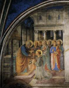 Public Domain Fra Angelico St. Stephen and St. Peter